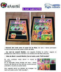 Activitat Petit Nandibú_GAT AMB BOTES