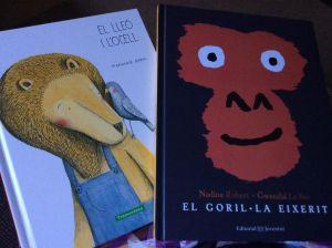 El lleó i l'Ocell i El goril·la eixerit