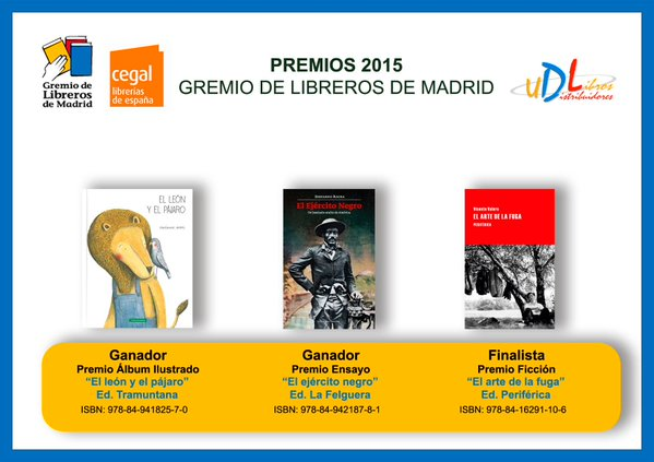 premio gremio libreros 2015