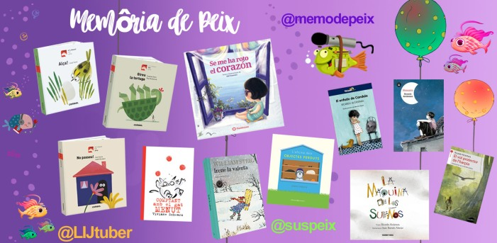 Cobertes dels llibres presentats al programa de la setmana. S'anomenen al text de l'entrada