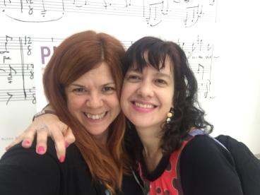 Susana Peix i Laia Aguilar en selfie