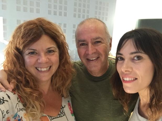 Amb l'escriptor Ricardo Alcàntara