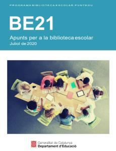 coberta revista Biblioteca Escolar num 21